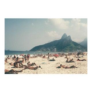 1970s Vintage Ipanema Beach Brazil Rio De Janeiro Photograph