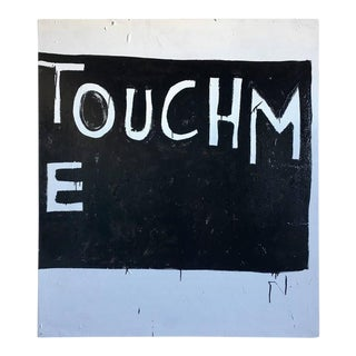 """Eric Stefanski """"Touch Me (2)"""" Contemporary Oil Painting"""