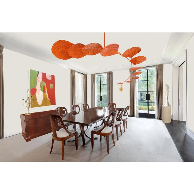 "2010s Calder-Esque ""Petal"" Mobile by Artist Scott Donadio For Sale - Image 5 of 6"