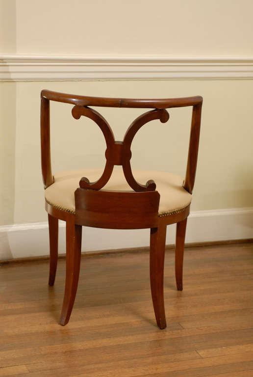 Pair Of John Stuart Neoclassical Chairs   Image 3 Of 11