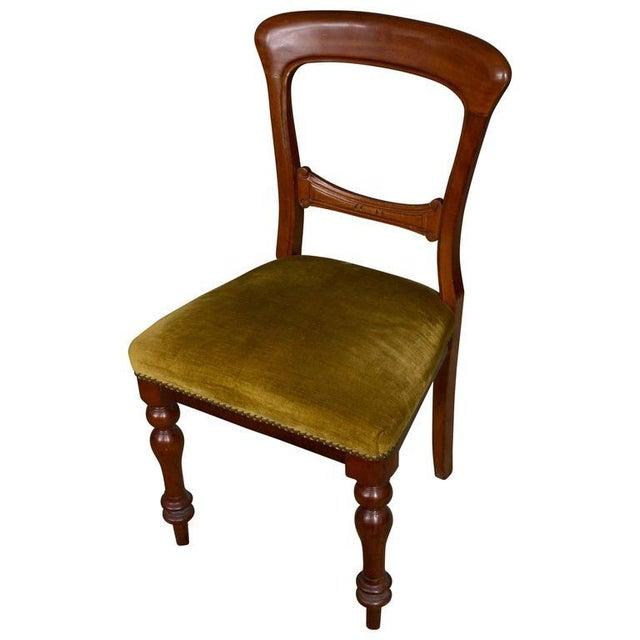 Single Mahogany Side Chair, William IV English - Image 11 of 11