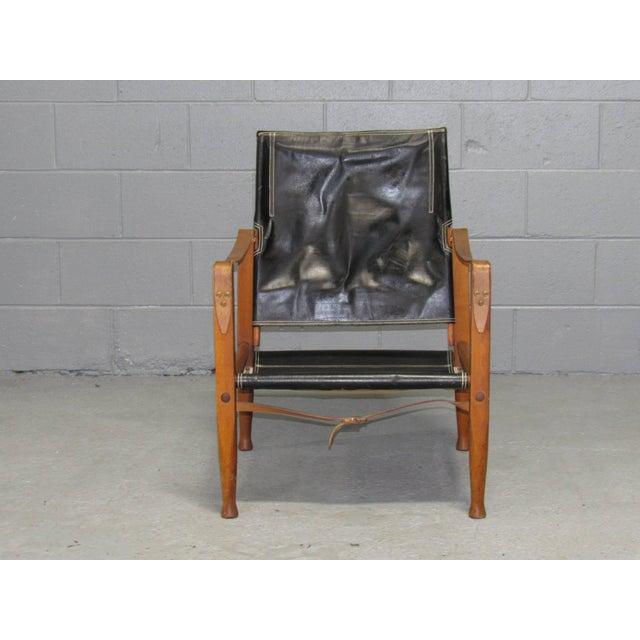 Danish architect and furniture designer Kaare Klint designed this safari chair for manufacturer Rud Rasmussen.