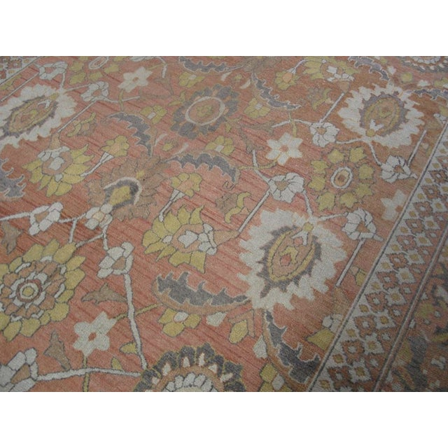 """Traditional Antique Moud Rug 8'0"""" X 15'8"""" For Sale - Image 3 of 9"""