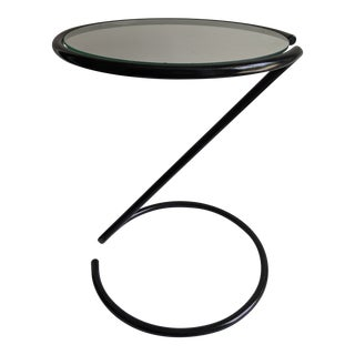 1970s Vintage Spiral Side Table For Sale