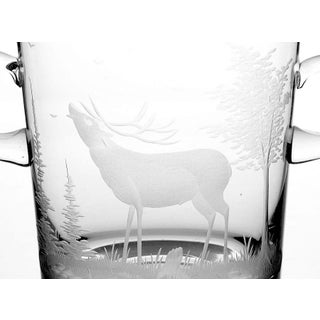 Queen Lace Crystal Mid Century Ice Bucket Preview