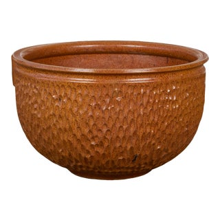 "David Cressey & Robert Maxwell for Earthgender ""Thumbprint"" Bowl Planter For Sale"