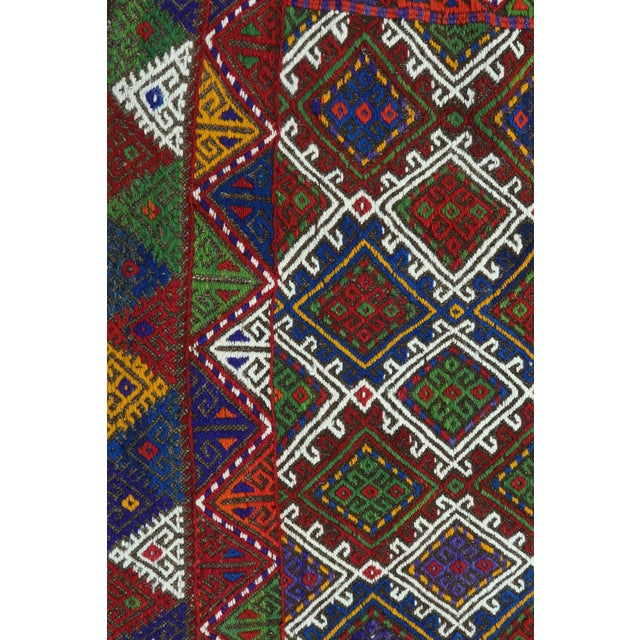 "Vintage Anatolian Kilim Runner-2'11'x11'2"" For Sale - Image 9 of 13"