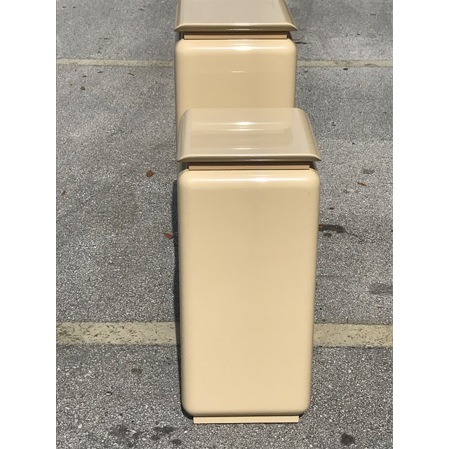 Rougier Mid Century Modern Rougie Pedestals- a Pair For Sale - Image 4 of 9