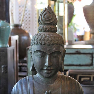 Praying Thai Garden Buddha Preview