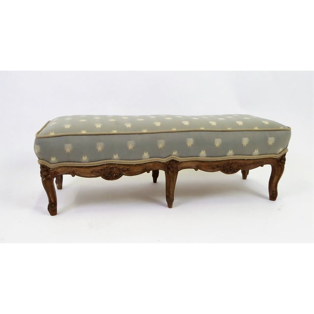 Louis XV Foot Stool Tabouret with Original Age Finish 18th Century For Sale - Image 13 of 13