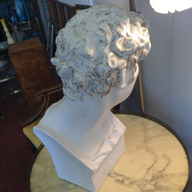 Plaster Bust Of David - Image 5 of 8