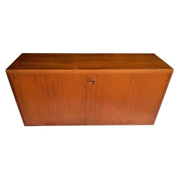 Danish Mid-Century Floating Cabinet - Image 1 of 5