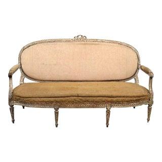 Antique Louis XVI Style Sofa For Sale