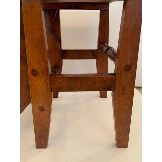 Antique Birdseye Maple Library Steps For Sale In Philadelphia - Image 6 of 13