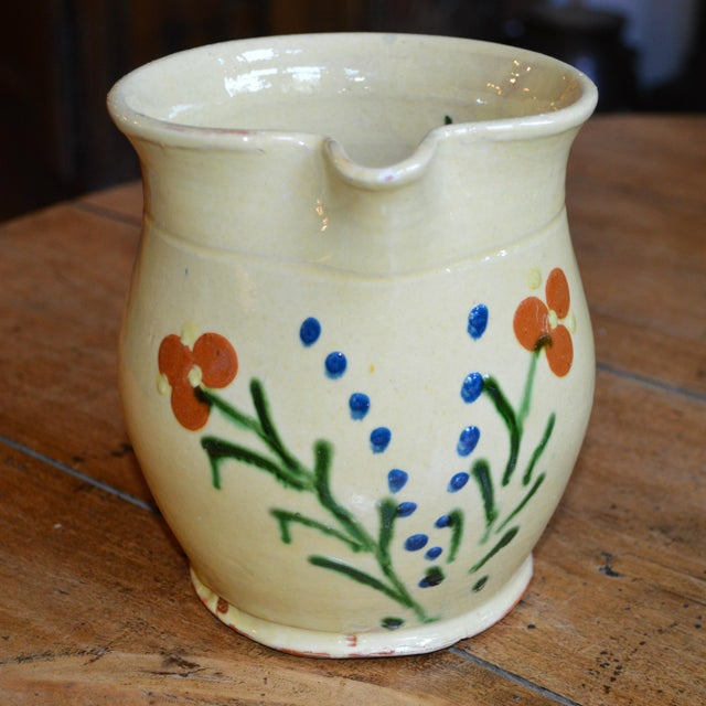 French French Terracotta Pitcher For Sale - Image 3 of 4