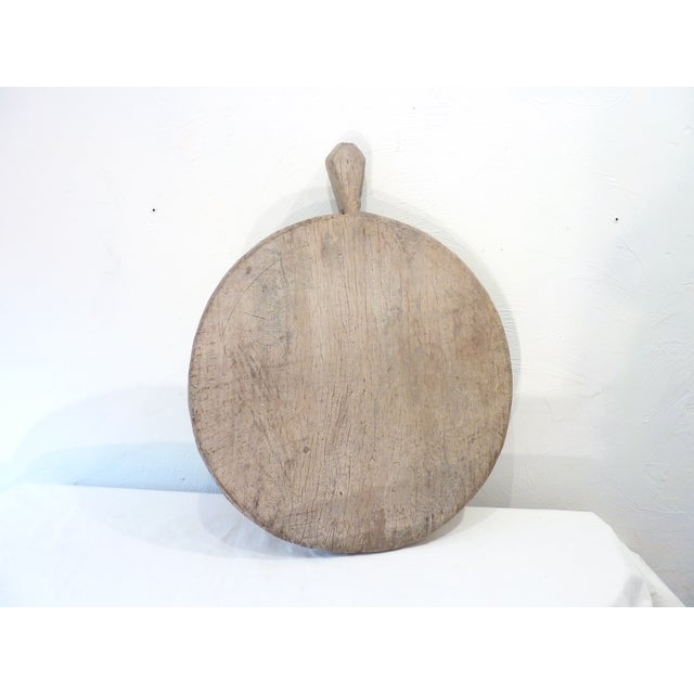 Mid 19th Century Rustic Wooden Olive Tray For Sale - Image 5 of 8