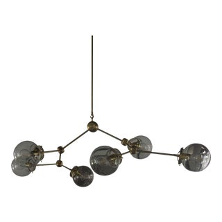 Element No. 6 Branching Globe Chandelier For Sale