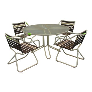 1970s Vintage Jordan Kailua Dining Set - 5 Pieces For Sale