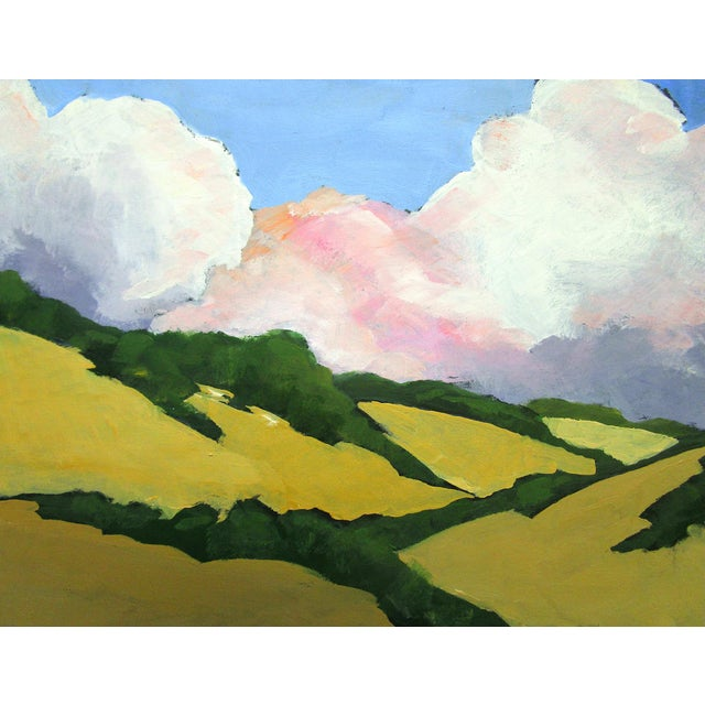 California Malibu Hills Morning Clouds Landscape Lynne French For Sale - Image 4 of 7
