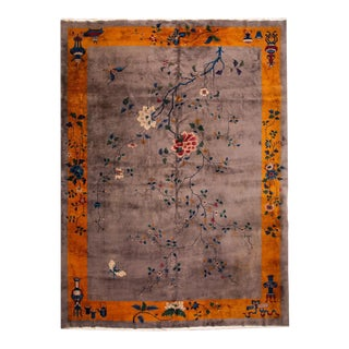 Early 20th Century Art Deco Chinese Rug For Sale