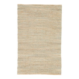 Jaipur Living Reap Natural Chevron Tan & Green Area Rug - 9'x12'