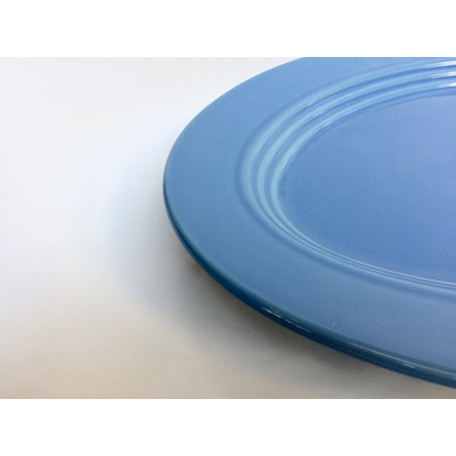 Blue Oval Serving Platter - Image 3 of 5