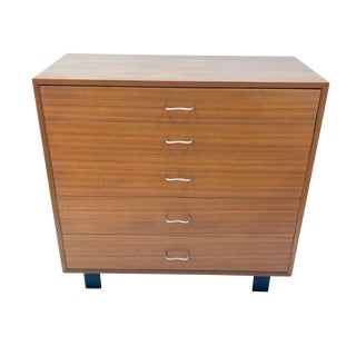 "George Nelson for Herman Miller Model 4620 ""Primavera"" Dresser - 2 Available"