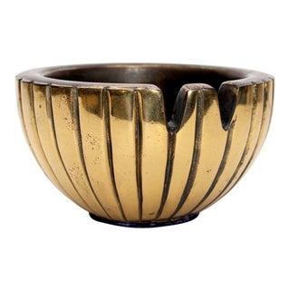 1950s Ben Seibel for Jenfred-Ware Brass Bowl Ashtray For Sale