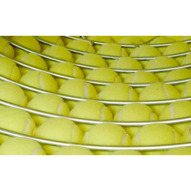 Yellow Tennis Ball Bench Designed by Tejo Remy & Rene Veenhuizen For Sale - Image 8 of 8
