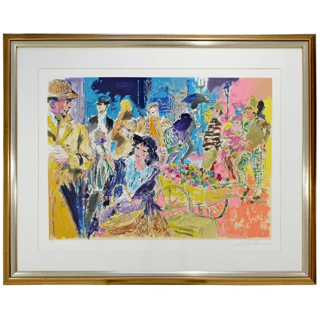 Mid-Century Modern Leroy Neiman Litho Signed Numbered 1/300 My Fair Lady Framed For Sale - Image 11 of 11