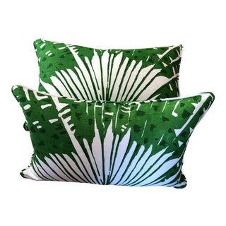 "Christopher Farr Cloth ""Palma Michael Szell"" Pillows - a Pair For Sale"