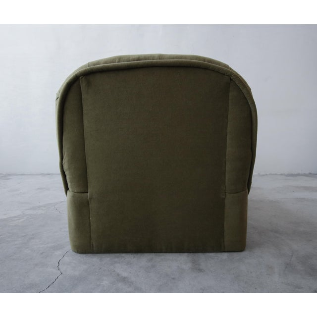 Post Modern Slipper Lounge Chair and Ottoman For Sale In Las Vegas - Image 6 of 8