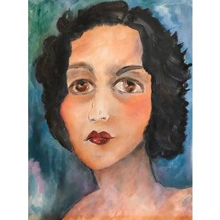 Original Portrait Painting For Sale