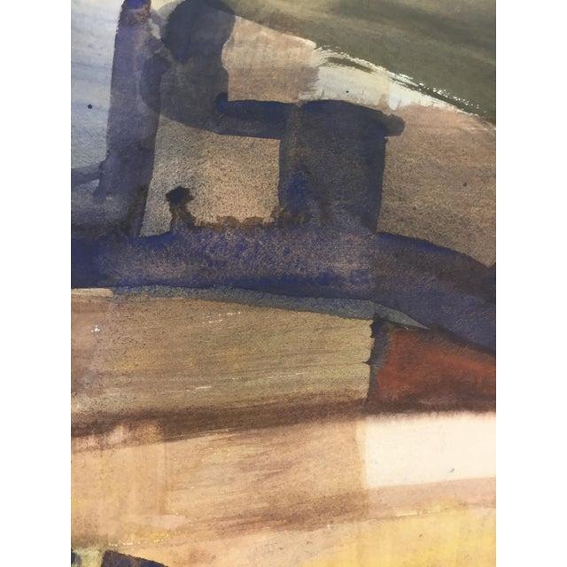 Abstract Expressionism 1970s Abstract Expressionism Landscape Bay Area Artist For Sale - Image 3 of 5