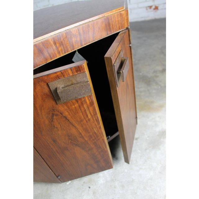Vintage Founders Furniture Cabinet Table For Sale - Image 9 of 11