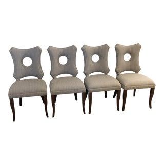 Tweed Indoor/Outdoor Dining Chairs - Set of 4