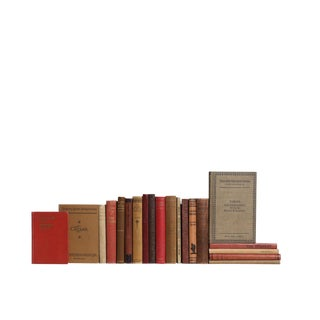 Pocket-Sized Cobblestone Decorative Books - Set of 20