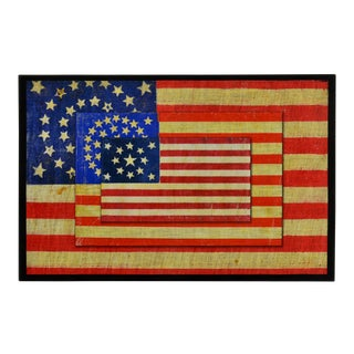 Flag Wall Art, Glicee on Canvas For Sale
