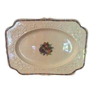 English Large Serving Platter For Sale
