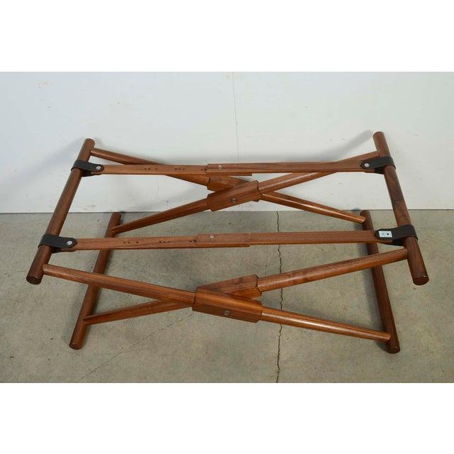 Modern Richard Wrightman Matthiessen Walnut Coffee Table For Sale - Image 4 of 10