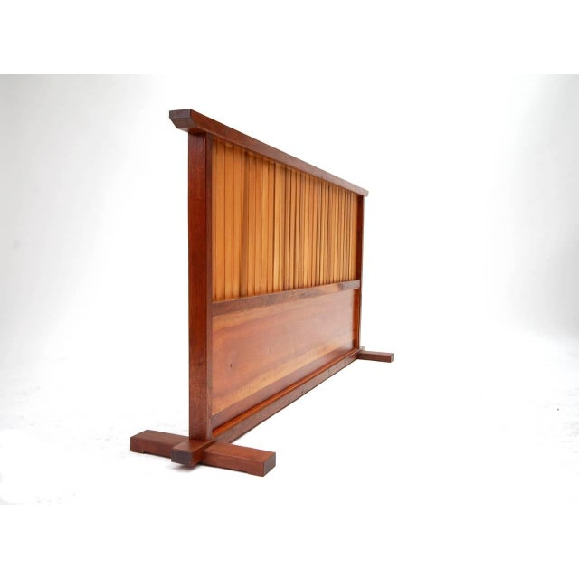 Small Japanese Style Room Divider by Teruo Hara For Sale - Image 9 of 9