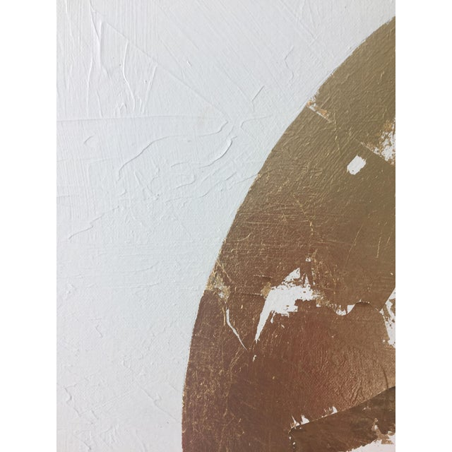 Gilded Circle No. 1 Acrylic on Canvas - Image 2 of 4
