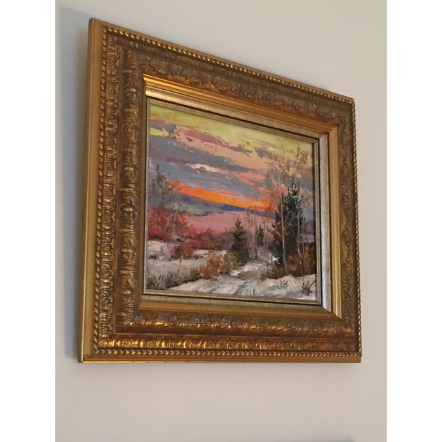 Russian Signed Oil on Canvas Paintings- Set of 2 - Image 6 of 6