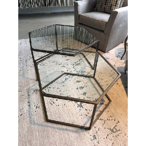 Contemporary Nesting Cocktail Tables - A Pair For Sale - Image 4 of 7