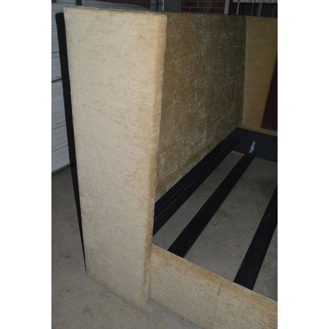 Modern Ralph Lauren Upholstered King Bed For Sale - Image 3 of 10