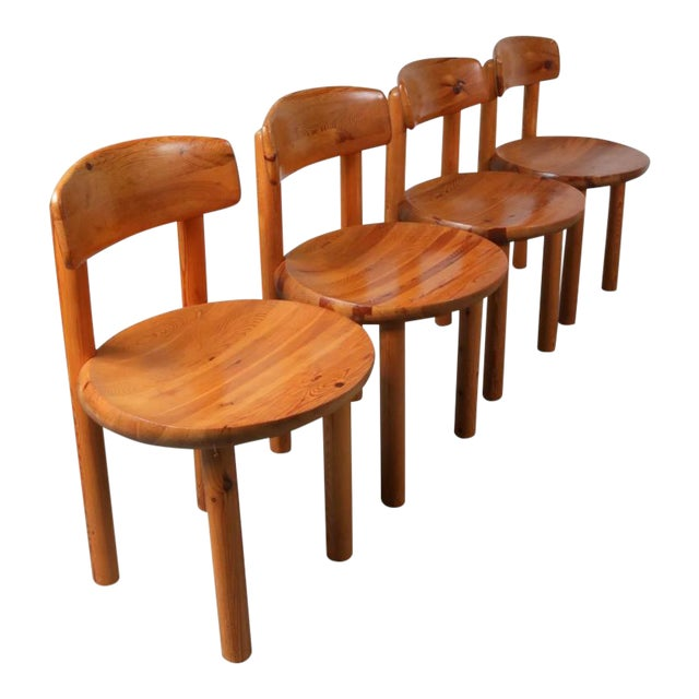 Set of Four Dining Chairs by Rainer Daumiller for Hirtshals Sawmill, Denmark - Image 1 of 8