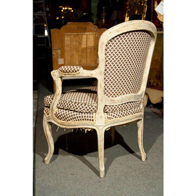 French Louis XIV Style Fauteuils - Pair - Image 7 of 8