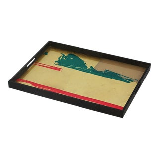Abstract Vista Tray by Notre Monde For Sale