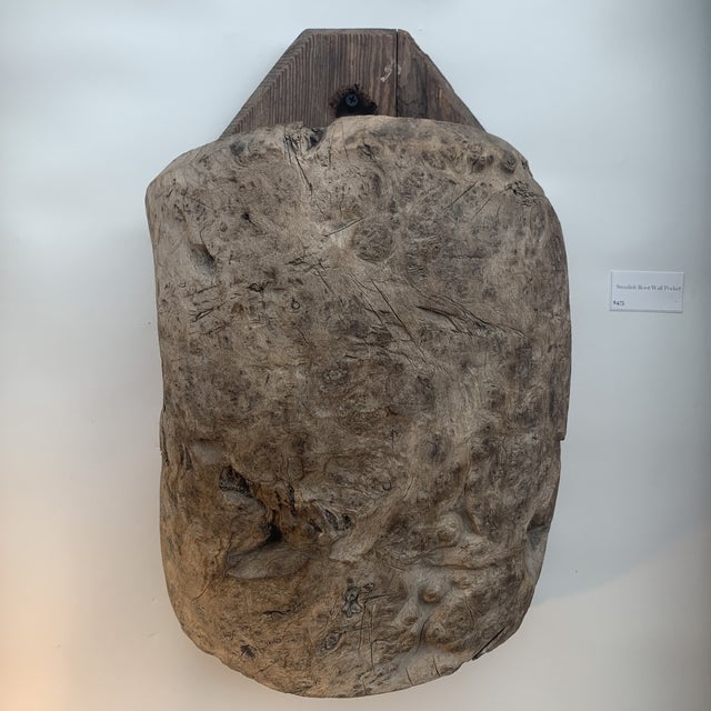 Late 19th Century 19th Century Swedish Root Ball Wall Pocket For Sale - Image 5 of 5