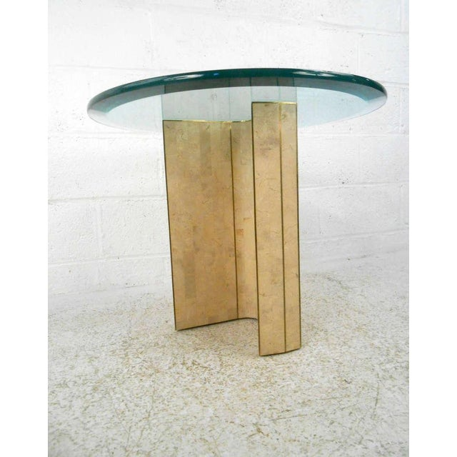 Vintage Marcius for Casa Bique Tessellated Stone End Table - Image 2 of 6